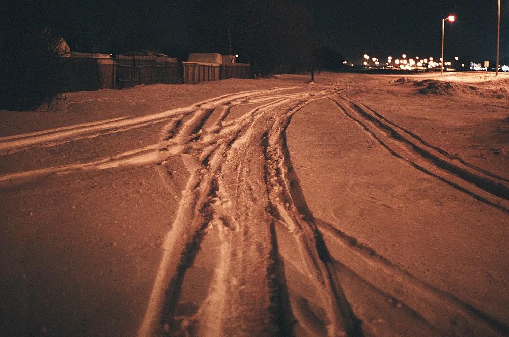snow machine with tracks